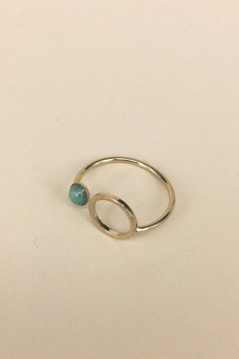 BAGUE ECLIPSE AMAZONITE - 45.00 €