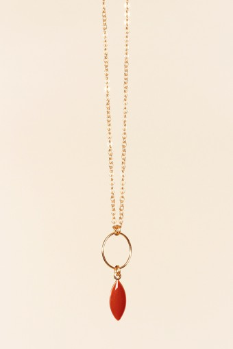 COLLIER LAURIER BLUSH - 59.00 €